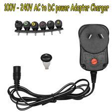 AC 100-240V to DC 3V-12V Power Supply Universal Adapter Converter AU 12W