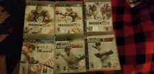 PS3 Sports Games Lot (6 Games) MLB 2K10 12 , Madden 10, 11, 12, MLB 12: The Show