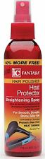 Fantasia Hair Polisher Heat Protector Straightening Spray, 6 oz (Pack of 7)
