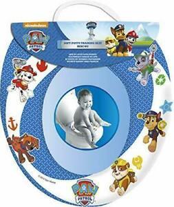 Paw Patrol Potty Training Kids Soft Padded Cover Toilet Seat Nickleodeon