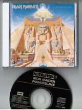 IRON MAIDEN Powerslave JAPAN CD TOCP-6341 1990 Pastemasters II w/PS BOOKLET
