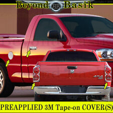 2007-2008 Dodge RAM 1500 Chrome Door Handle Covers W/PsgKey+Gas+Tail Light Bezel