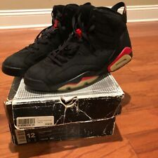 """AUTHENTIC AND PRE-OWNED 2000 Air Jordan 6 Retro """"Infrared"""" Size 12"""
