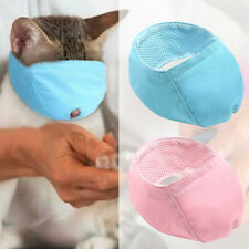 Adjustable Cat Grooming Muzzle Nylon Mesh Pad No Bite Pet Puppy Mouth Mask Cover