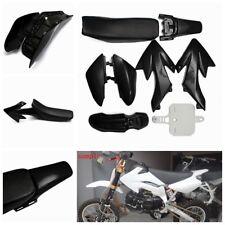Black 50cc 110cc 125cc 140cc Plastic 4-Stroke CRF50 Pit Bike Kit Mudguard Seat