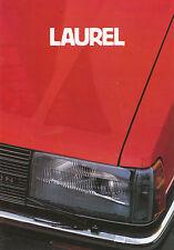 Prospekt Datsun Nissan Laurel 1982 Autoprospekt 2 82 Auto Pkw Asien Japan