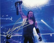 The Undertaker ( WWF WWE ) Autographed Signed 8x10 Photo REPRINT