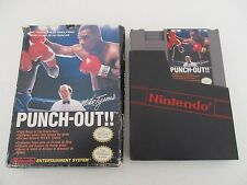 MIKE TYSON 'S PUNCH OUT - NINTENDO NES - JEU NES PAL en boite