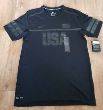 BNWT Mens Nike USA Dri-Fit Running Top. UK Size Medium.
