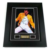 FREDDIE MERCURY Signed PREPRINT QUEEN Film Cell Framed Music Memorabilia GIFTS