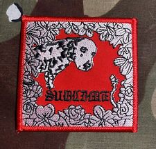 Sublime Lou Dog Embroidered Patch S090P Rancid Operation Ivy No Doubt