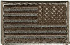 Reverse Desert United States US Iron Sew On Flag Embroidery Patch