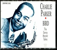 CHARLIE PARKER - BIRD / THE SAVOY MASTER TAKES - VOGUE FRENCH 2 CD ALBUM [725]