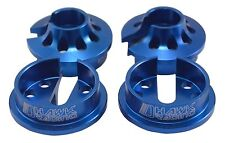 Aluminum Shock Spring Caps For Associated RC8 89354 Dhawk Racing