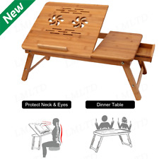 Adjustable Portable Foldable Laptop Notebook Desk Table Stand Bed Tray usa