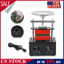 High Quality Professional Rosin Press Hand Crank Duel Heated Plates 24x47