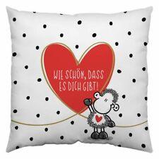 Sheepworld Kissen MAMA DU BIST WUNDERBAR Dekokissen Geschenk Muttertag 30x30cm