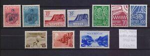! Norway 1938-1970.  Stamp. YT#187/189,193/194,400/401,564/566. €60.50!