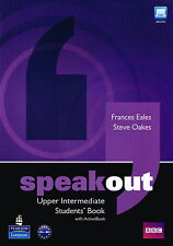 Longman SPEAKOUT Upper-Intermediate Students Book w Active Book Eales Oakes@NEW@