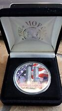 2001 World Trade Center Memorial 1 oz U.S. Silver Eagle w/COA