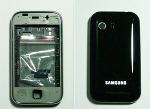 black Housing Cover Fascia facia faceplate case for Samsung Galaxy Y S5360 black