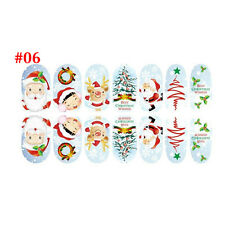 Fashion Nail Art Stickers 3D Design Manicure Tips Decals Wraps Decorate DIY #6
