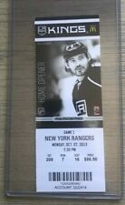 2013-14 Los Angeles Kings NHL Official Mint Ticket Stubs - pick any game!