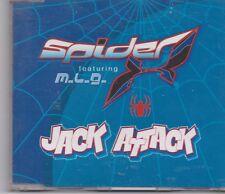 Spider -Jack Attack cd maxi single 6 tracks