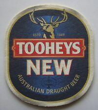 Tooheys New Australian Draught Beer Coaster (B301)