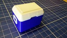 1:10 Scale Model Small Blue Cooler for RC Crawler Garage Accessories axial rc4wd