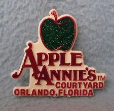 Vintage Apple Annie's Court Yard Orlando Florida Plastic Magnet, Souvenir