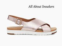 "UGG KAMILE SANDAL ""BLUSH METALLI"" Women's Sandals/Slides Limited Stock All Sizes"