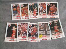 1990/91 Fleer Chicago Bulls Team Set  (Jordan,Pippen,Plus)