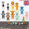 Animal Wall Stickers Safari Kids Room Childrens Bedroom Nursery Decal Girls Boys