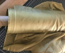 New Golden Bronze Sheer Chiffon Fabric For Curtain Craft Clothing Bty