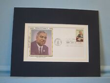 Famed Civil Rights Leader Whitney Young & First Day Cover of his own stamp