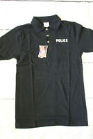 Rothco Polo Golf Shirt Police Law Enforcement Size Small Black 100% Cotton NEW
