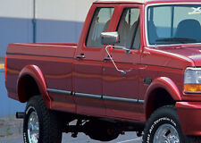 "92-96 Ford Bronco F150 F250 Xenon 2"" Urethane 4PC Fender Flares Kit Set NEW 8220"
