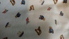 Ralph Lauren Teddy Bear American Flag Rocking Horse Ship Baby Blanket