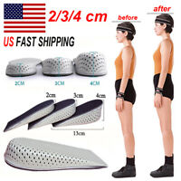 Breath Shoe Insole Air Cushion Heel insert Increase Taller Height Lift (1 PAIR)