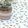 Wedding Table Decorations | Rustic Small Wooden Hearts | Confetti Love Decor