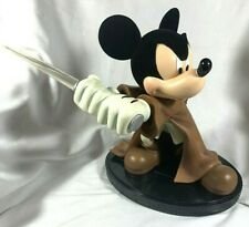 NEW RETIRED RARE DISNEY STAR WARS WEEKEND JEDI MICKEY MOUSE FIGURE LIGHTUP SABER