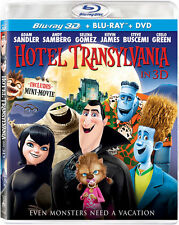 Hotel Transylvania Blu-ray 3D + Blu-ray + DVD (UV Digital Copy)