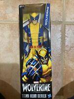 Wolverine X Men 12 inch Action Figure Titan Hero Series Marvel Hasbro Brand New