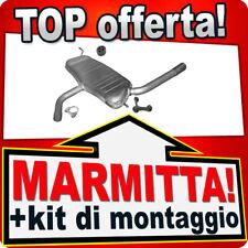 Silenziatore Posteriore Seat Altea XL Toledo 1.6 2004-2013 Marmitta ALY