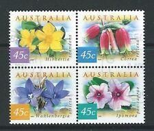 AUSTRALIA 1999 COASTAL FLOWERS FINE USED