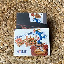 Rockin' Kats 😸🔫🥊 mit Anleitung für NES Nintendo Entertainment System 🎮📺