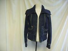 Ladies Jacket - Gap, Medium, , Blue Denim Look, 98% Cotton-   0726