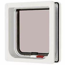 Cat Mate Lockable Cat Flap and Door Liner White - 38587