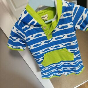 Great Boys Towelling Romper From Hatley, Age 12/18 Months!